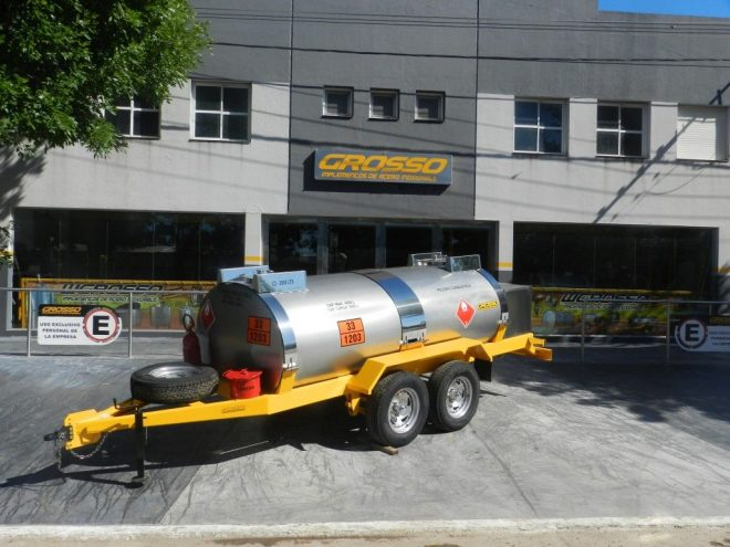 Fuel transport Trailers