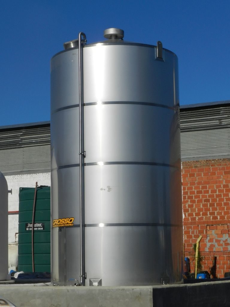 Stainless Steel Vertical Silos Grosso