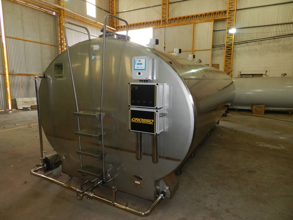 coolers milk tanks milk cooling equipment-20000-litros